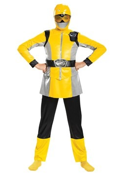 Power Rangers Beast Morphers Yellow Ranger Costume for Girls
