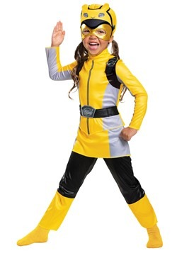 Classic Power Rangers Beast Morphers Yellow Ranger Costume
