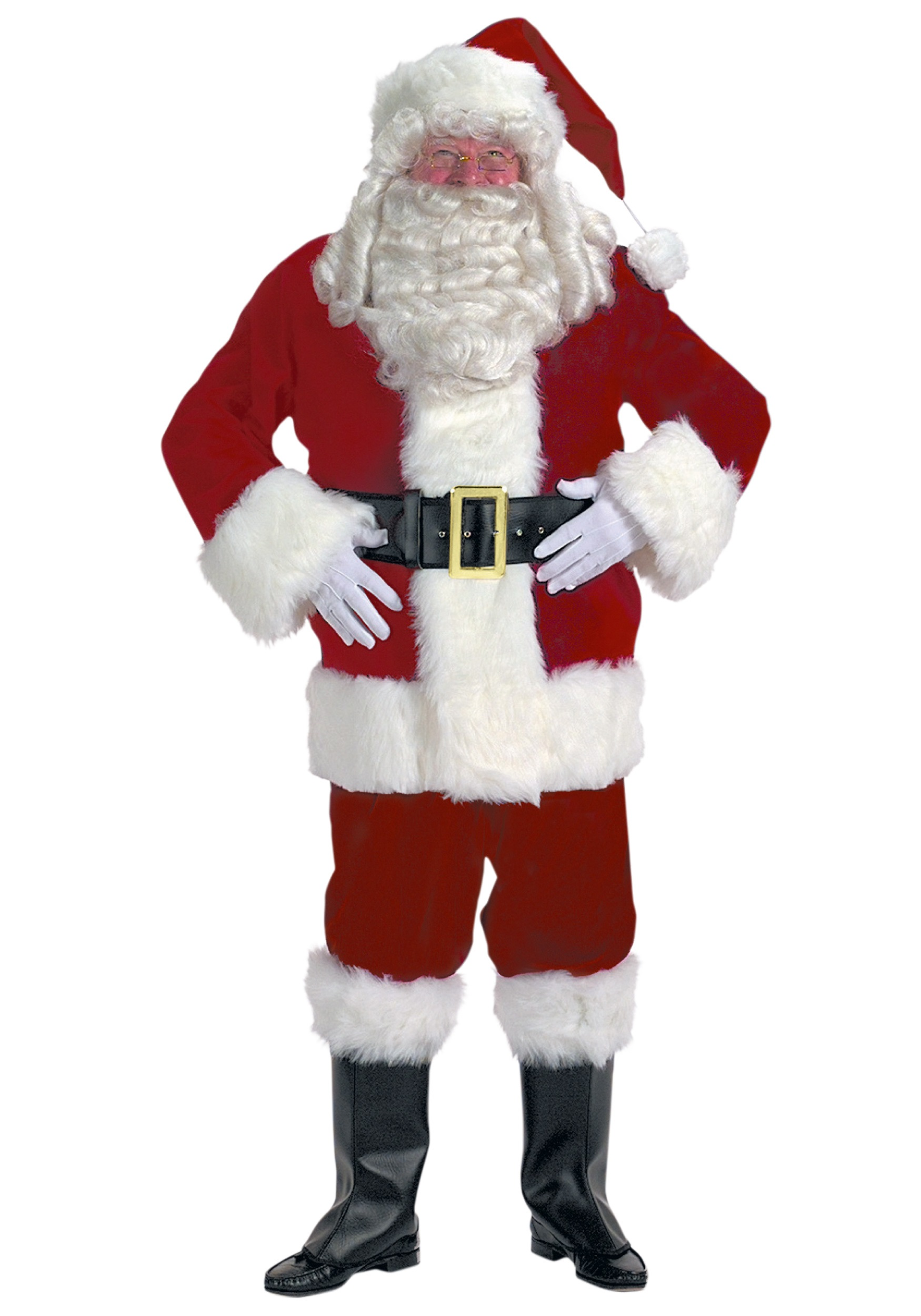 adult santa claus costume. Black Bedroom Furniture Sets. Home Design Ideas