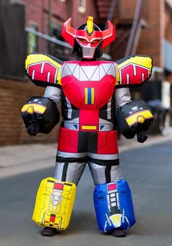 Power Rangers Child Megazord Inflatable Costume Update