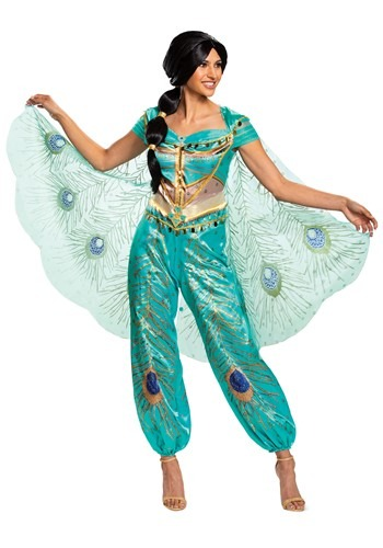Disney Aladdin Live Action Womens Jasmine Costume