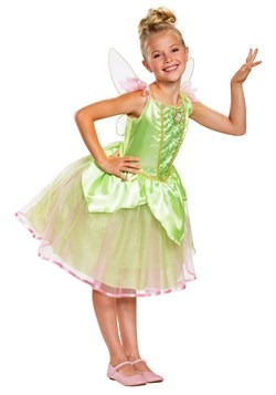 Peter Pan Girls Tinker Bell Costume Update 1