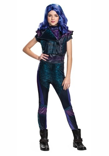 Disney Descendants 3 Girls Mal Classic Costume