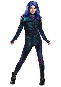 Descendants 3 Girls Mal Deluxe Costume
