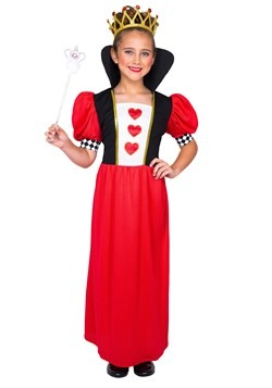 Girl's Fairytale Queen of Hearts Costume