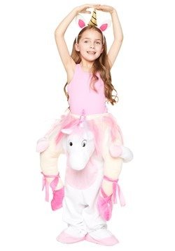 Girl's Unicorn Ride Along Costume