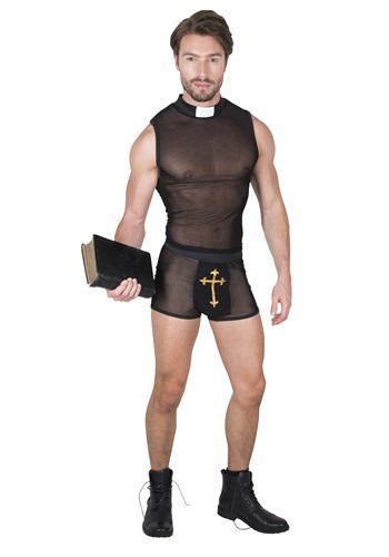 Men's Sexy Priest Costume