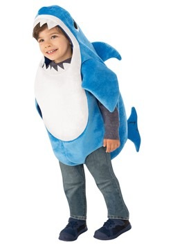 Baby Shark Daddy Shark Toddler Costume with Sound