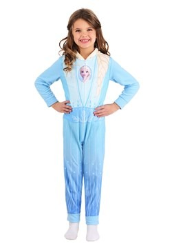 Frozen Girls Elsa Union Suit