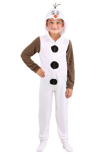 Boys Frozen Olaf Union Suit
