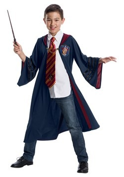 Fantastic Beasts Vintage Gryffindor Deluxe Child Robe Costum