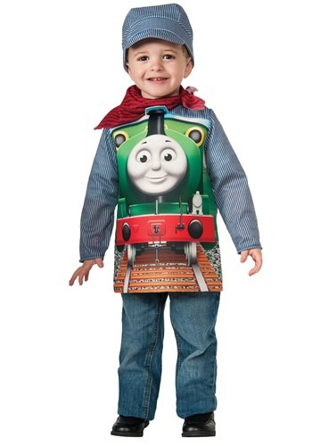Toddler Thomas and Friends Percy Deluxe Costume