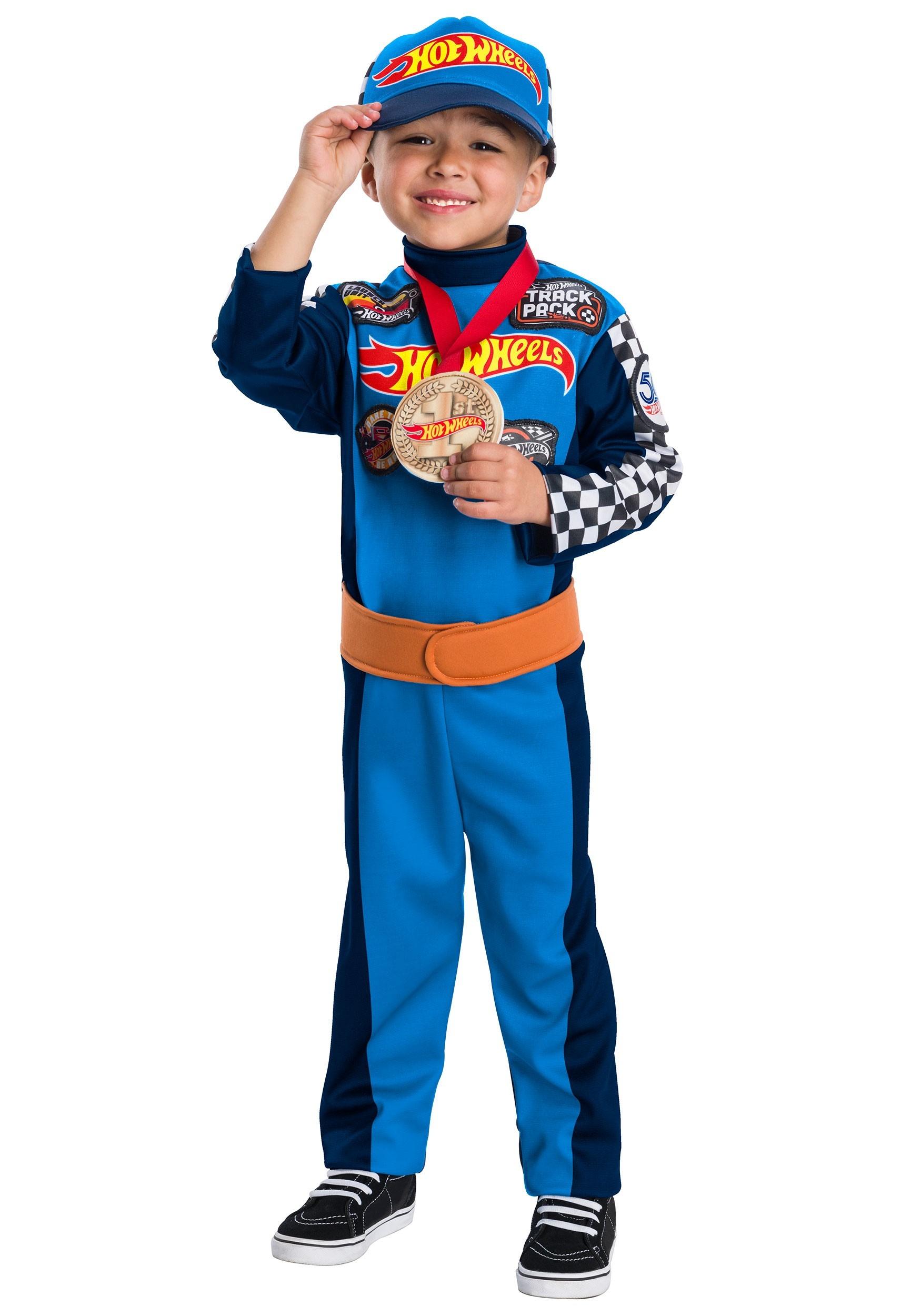 Boy S Hot Wheels Race Car Driver Costume