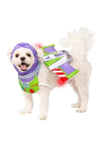 Click Here to buy Toy Story Buzz Lightyear Pet Costume from HalloweenCostumes, CDN Funds