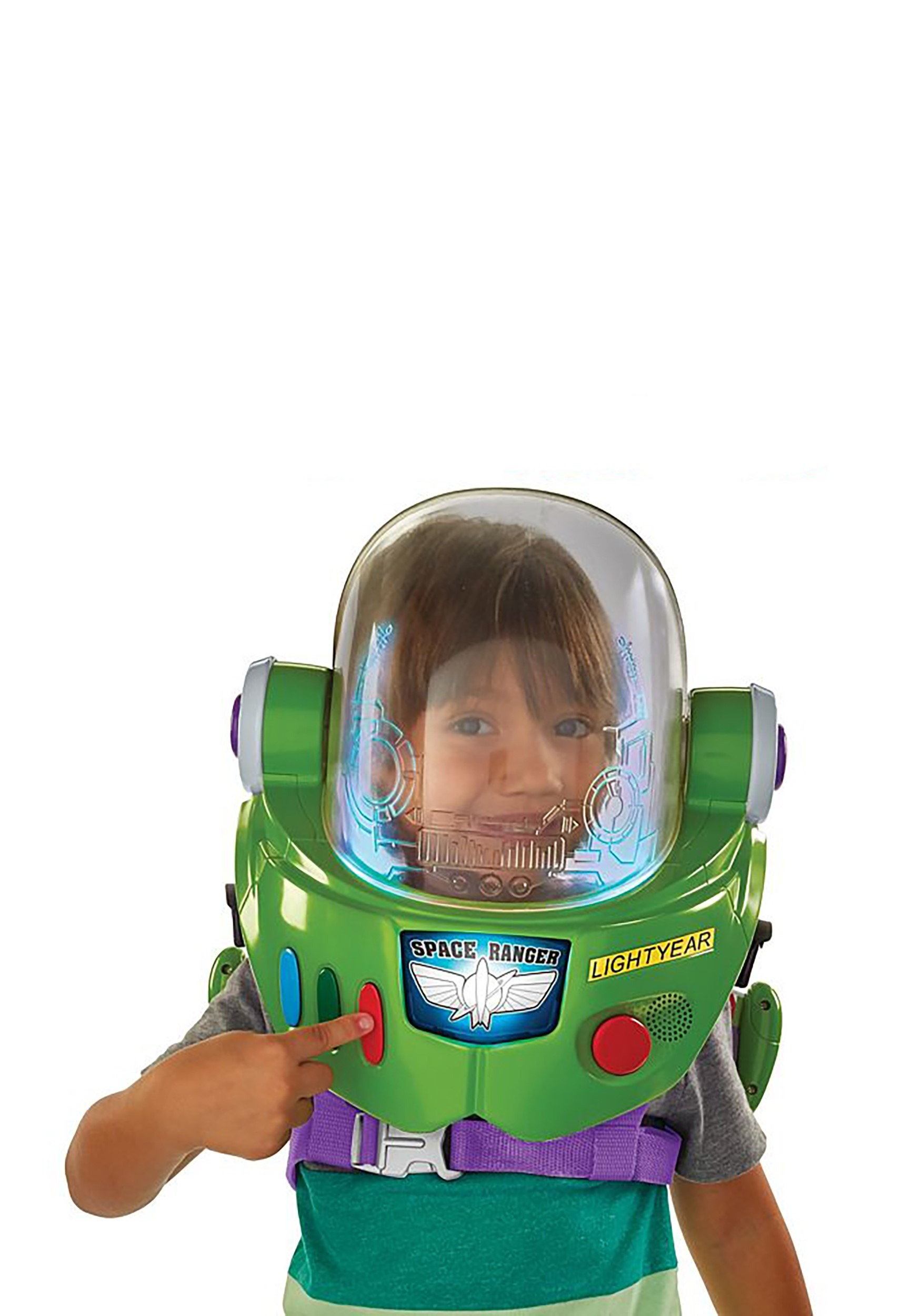 Toy Story 3 Disney Halloween Buzz Lightyear Costume Wings Space Ranger Toddler