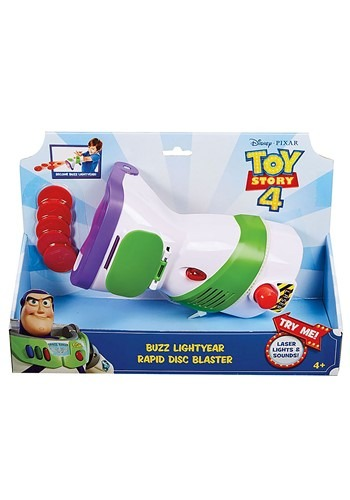 Click Here to buy Disc Blaster Toy Story 4 Buzz Lightyear from HalloweenCostumes, CDN Funds