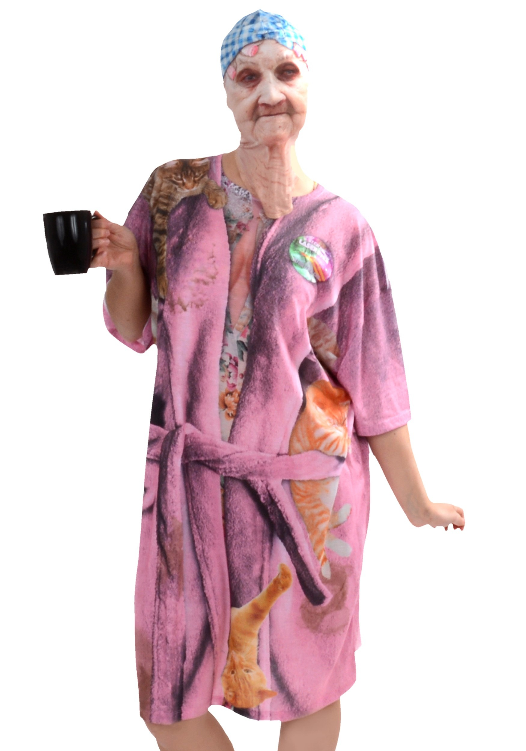 Crazy Cat Lady Costume Halloween Fancy Dress