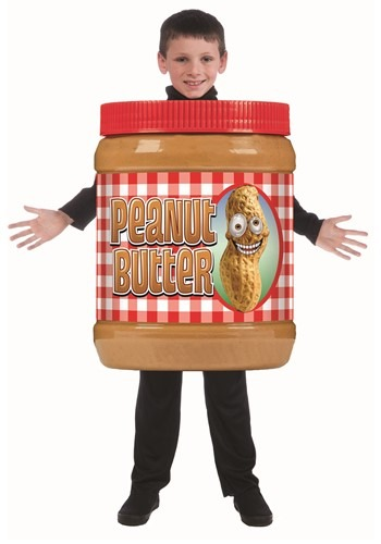 Child Peanut Butter Jar Costume