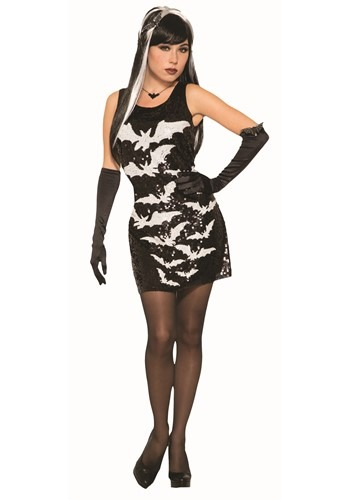 Sequin Bat Dress for Women