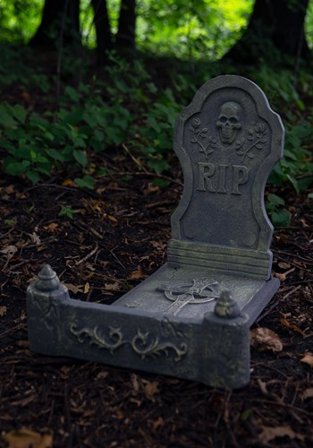 3 Piece Tombstone Bed Halloween Decoration