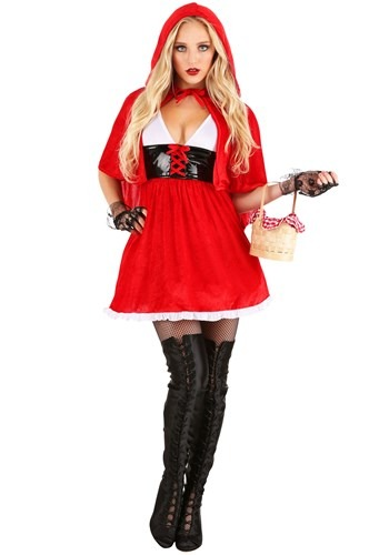 Red Hot Riding Hood Costume for Women