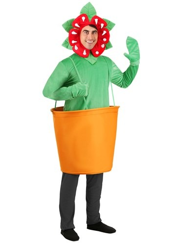 Plus Size Man-Eating Venus Fly Trap Costume