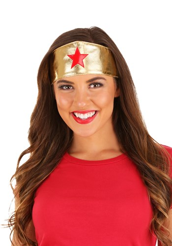 Womens Superhero Headband By: H.M. Smallwares for the 2015 Costume season.