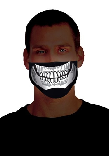 Sound Activated Light Up Skeleton Mask 1