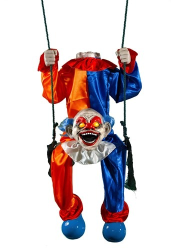 Animated Headless Clown on Swing 1