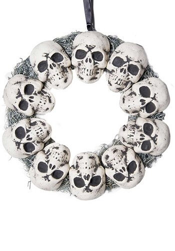 Wreath Circle of Skulls