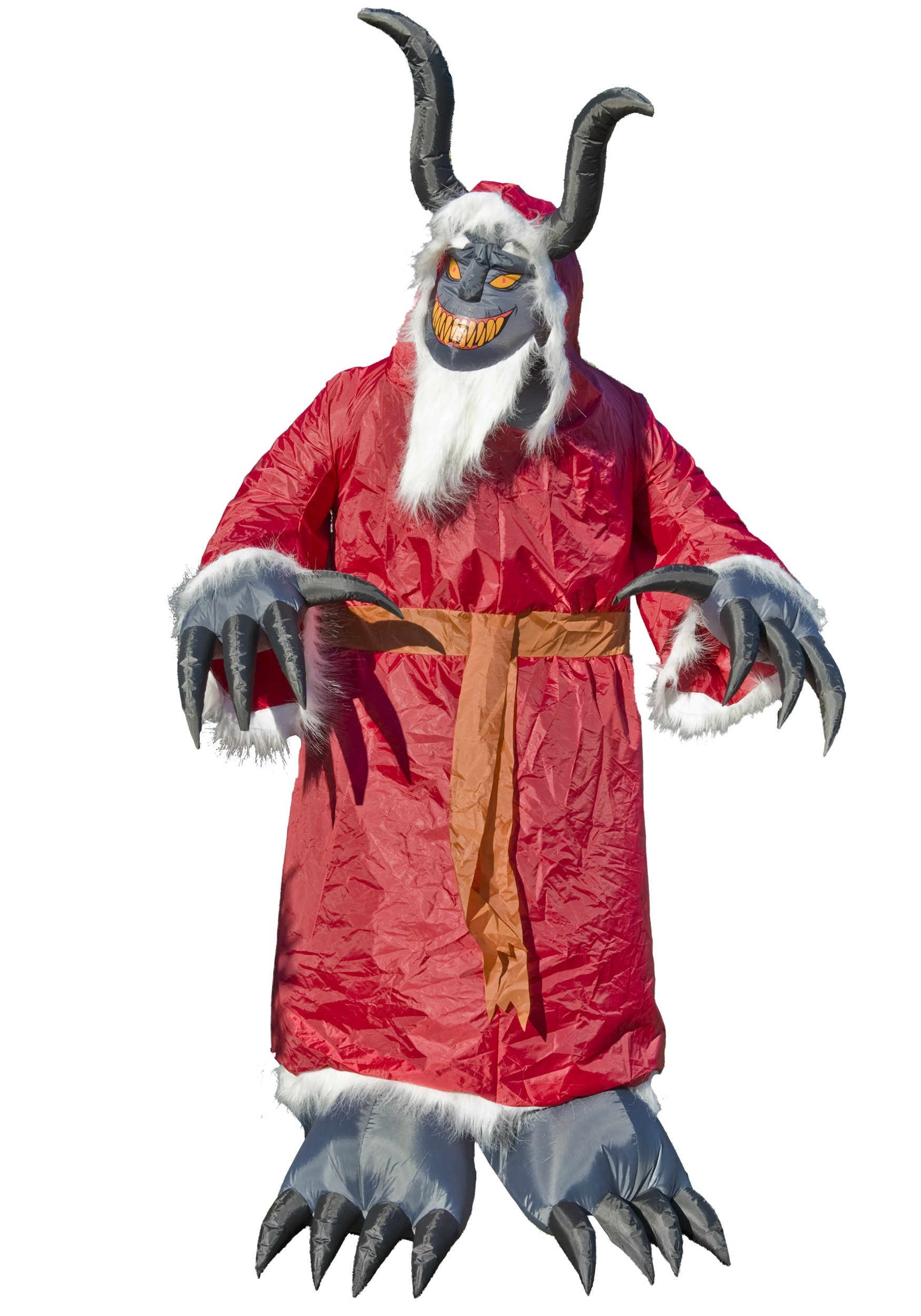 Inflatable Animated Krampus Prop