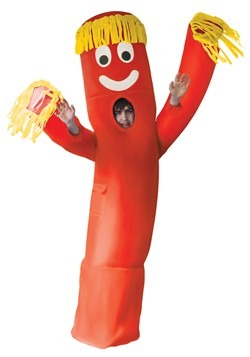 Adult Inflatable Red Wavy Arm Guy Costume