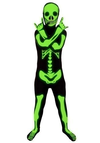Child Glow Skeleton Costume