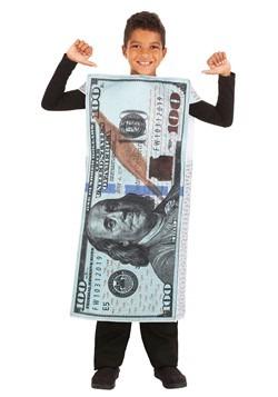 Child 100 Dollar Bill Costume
