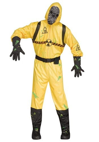 Men's Sound FX Bio Hazard Costume