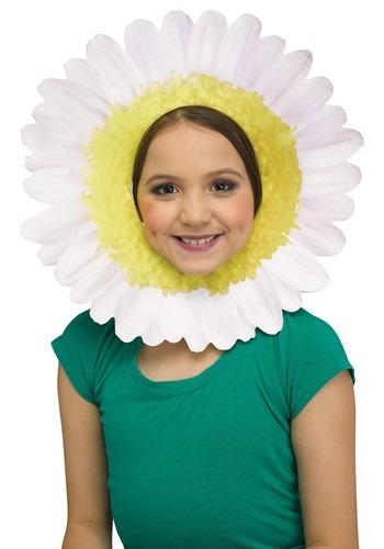 White Daisy Headpiece