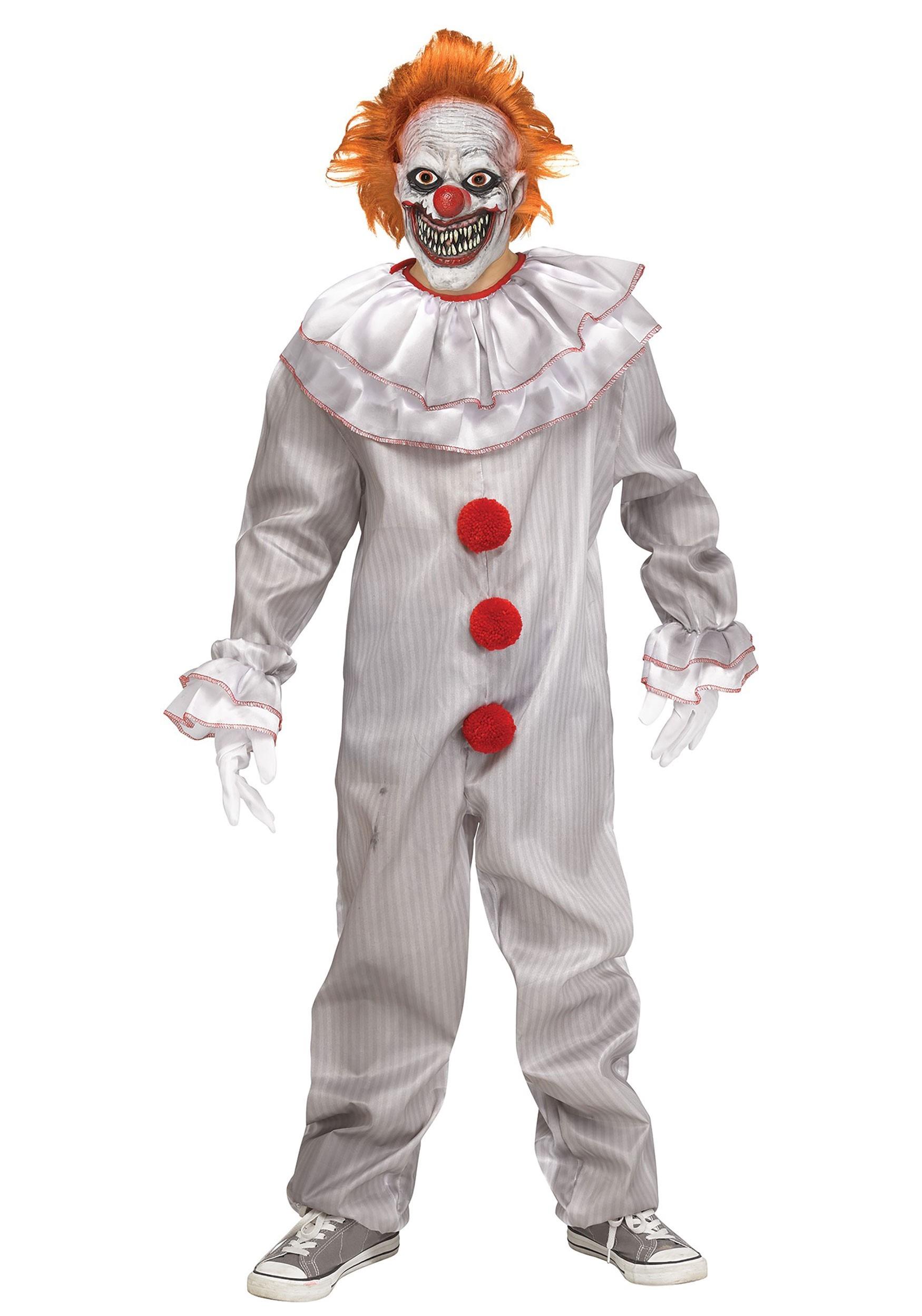 Carnevil Killer Clown Costume Boy\u0027s