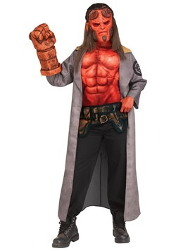 Hellboy (2019) Child Hellboy Costume