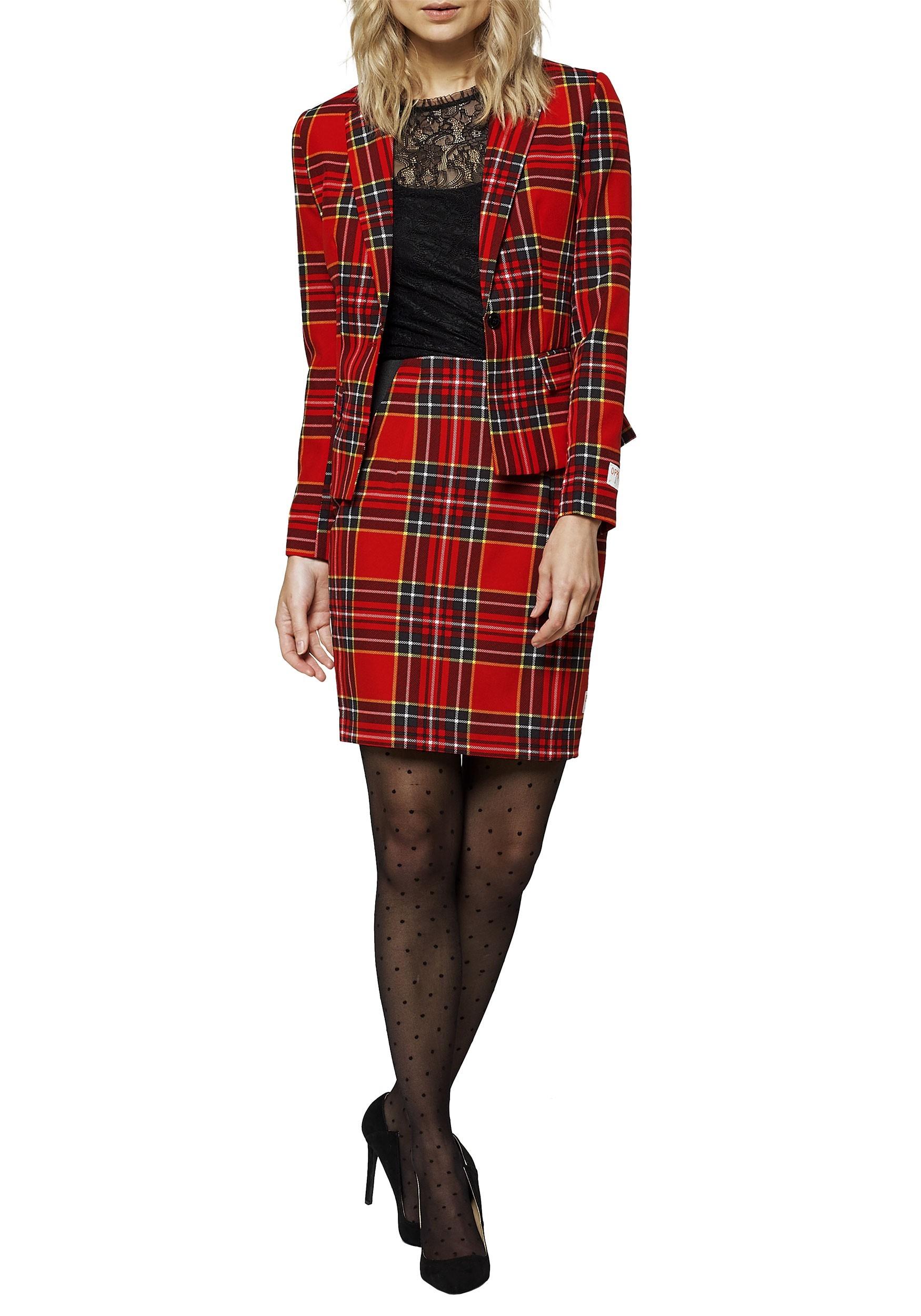 a8cd2de76f4730 Opposuit Lumber Jackie Women's Red Suit