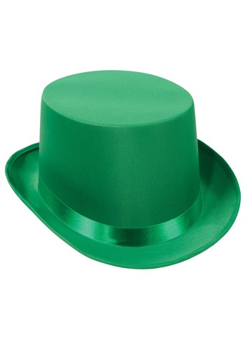 Green Top Hat By: Beistle for the 2015 Costume season.
