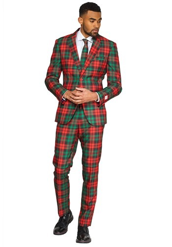 Opposuit Trendy Tartan Mens Suit