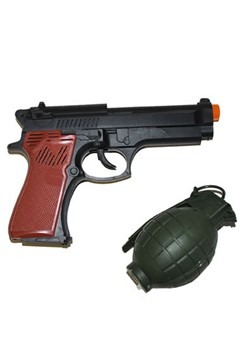 Gun and Grenade Set