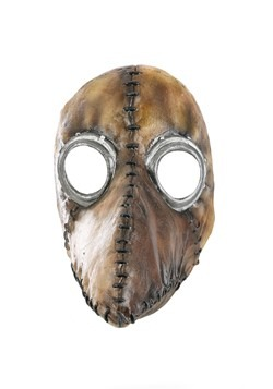Plague Doctor Brown Mask