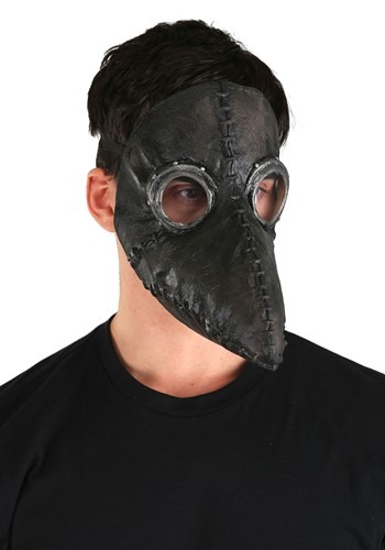 Plague Doctor Black Mask