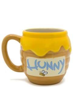 Ceramic Winnie the Pooh Sculpted Mug Alt 1
