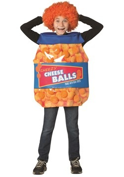 Child Cheese Balls Costume