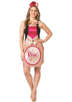 Women's Rose Wine Dress