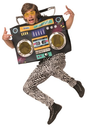 The Adult Boom Box Costume
