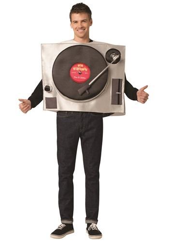 The Adult Turntable Costume