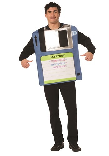 The Adult Floppy Disk Costume